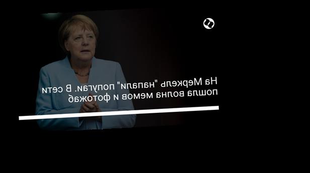 """На Меркель """"напали"""" попугаи. В сети пошла волна мемов и фотожаб"""