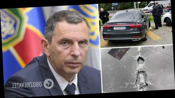 На советника президента Шефира было совершено покушение, ранен водитель. Фото, видео и все подробности