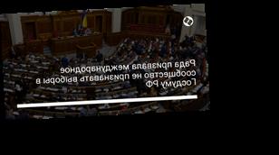 Рада призвала международное сообщество не признавать выборы в Госдуму РФ