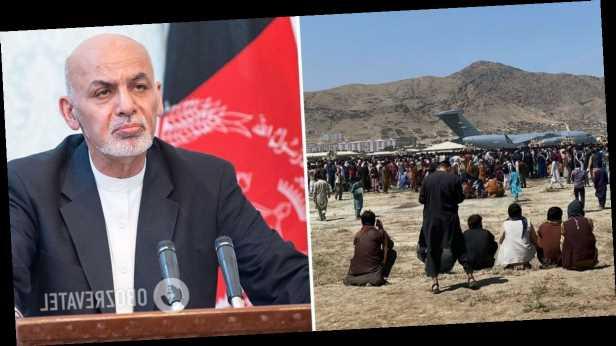 Сбежавший из Афганистана президент Гани извинился перед соотечественниками