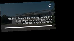 Словакия пропустила первый самолет в аэропорт Ужгород через свое воздушное пространство