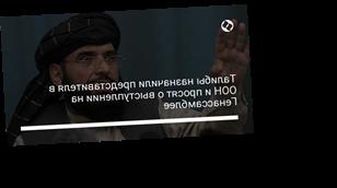 Талибы назначили представителя в ООН и просят о выступлении на Генассамблее