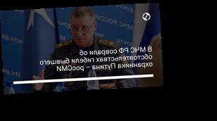 В МЧС РФ соврали об обстоятельствах гибели бывшего охранника Путина – росСМИ