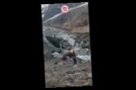 В России ледник рухнул на туристок, есть жертвы