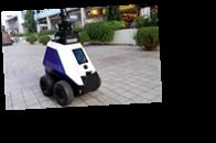 В Сингапуре за порядком на улице следят роботы-патрульные