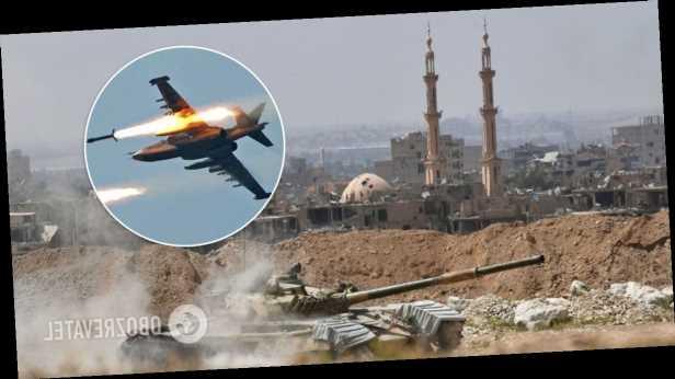 В Сирии неизвестный самолет атаковал базу поддерживаемых Ираном ополченцев