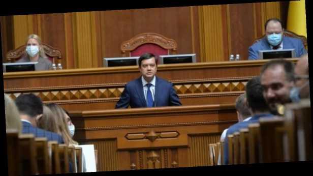 ВР получила письмо от омбудсмена о несоответствии Конституции законопроекту об олигархах, – Разумков