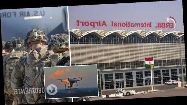 Возле аэропорта в Ираке сбили беспилотник, были слышны шесть взрывов