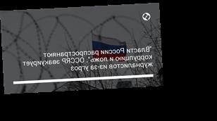 """""""Власти России распространяют коррупцию и ложь"""". OCCRP эвакуирует журналистов из-за угроз"""