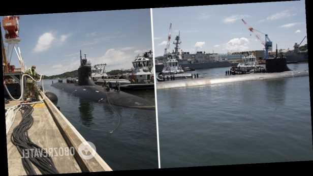 Атомная подлодка США столкнулась с неизвестным объектом в Южно-Китайском море. Фото