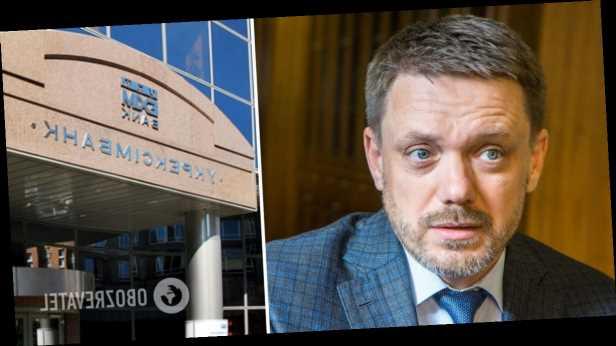 Что удалось вскрыть журналистам »Схем»: глава Укрэксимбанка устроил потасовку, услышав вопрос об одном из кредитов