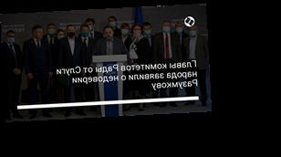Главы комитетов Рады от Слуги народа заявили о недоверии Разумкову