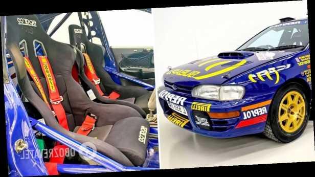 Легендарную Prodrive Subaru Impreza пустили с молотка за биткоины