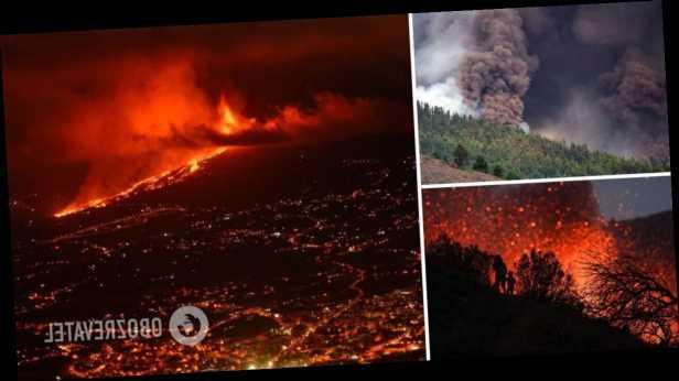 На Канарских островах усилилось извержение вулкана: поток лавы угрожает нескольким городам. Фото и видео