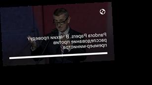 Pandora Papers. В Чехии проведут расследование против премьер-министра
