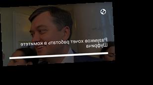 Разумков хочет работать в комитете Шуфрича