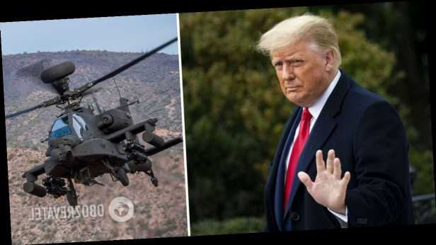 Россия и Китай захватили американские »Апачи» в Афганистане, – Трамп