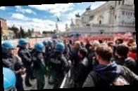 В Италии арестованы лидеры ультраправой партии после протестов антиваксеров