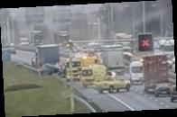 В Нидерландах пробки и аварии из-за непогоды
