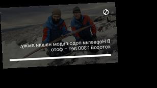 В Норвегии подо льдом нашли лыжу, которой 1300 лет – фото