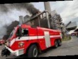 В Праге произошел крупный пожар на мусоросжигательном заводе