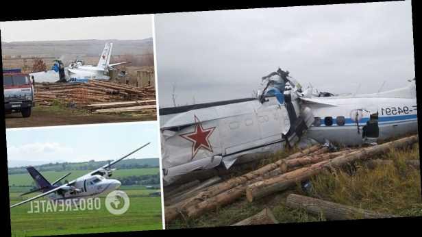 В России упал самолет с парашютистами: много погибших. Фото с места ЧП
