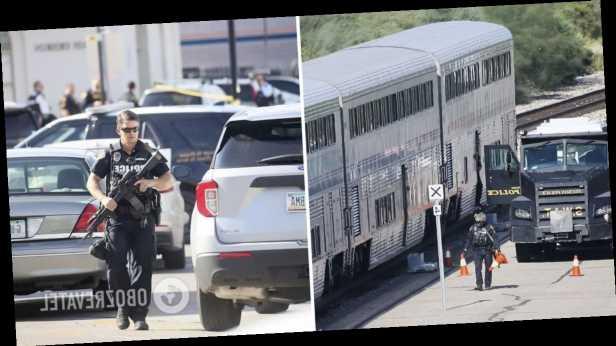 В США мужчина устроил стрельбу в поезде, есть погибший и раненые. Фото