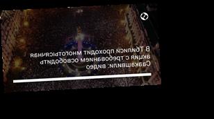 В Тбилиси проходит многотысячная акция с требованием освободить Саакашвили: видео