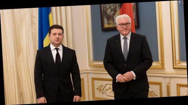 Война на Донбассе, выборы и »Северный поток-2»: главное из встречи Зеленского и Штайнмаера